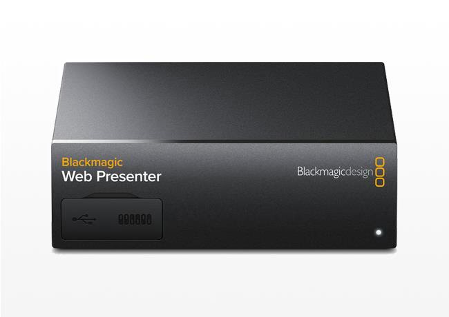 Kiralık Blackmagic Design Web Presenter