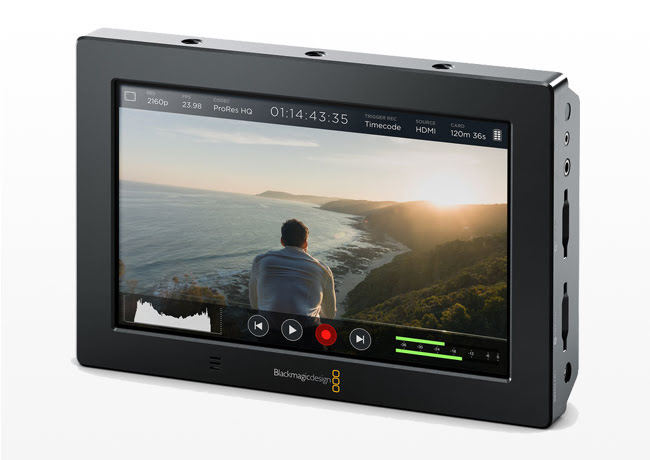 Kiralık Blackmagic Video Assist Recorder Monitor 4K