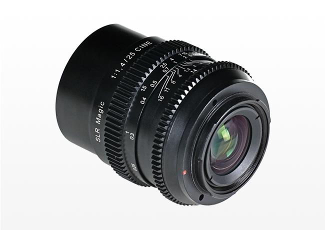Kiralık SLR Magic Cine 25mm f/1.4 (E-mount)