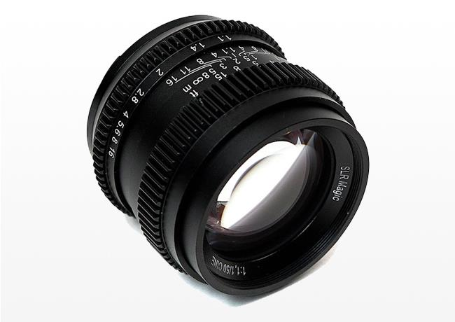 Kiralık SLR Magic Cine 50mm f/1.1 (E-mount)