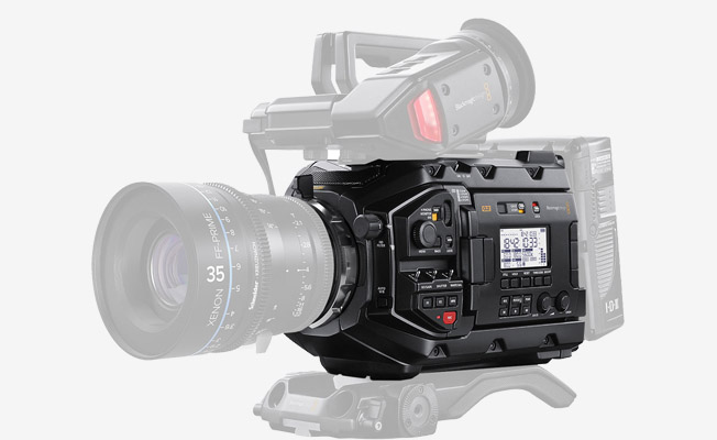 Blackmagic URSA Mini Pro G2 Detay