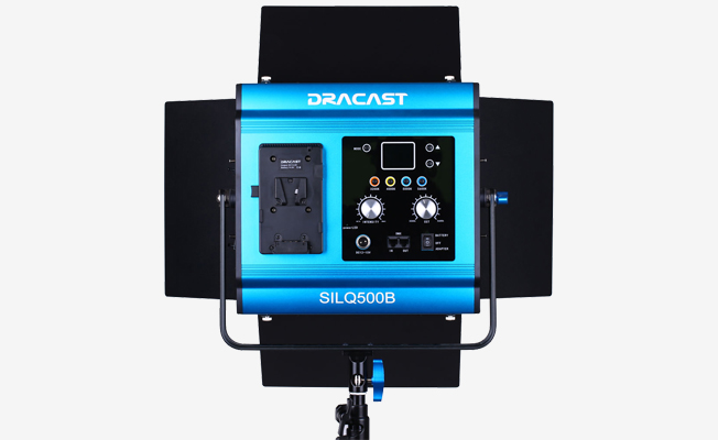 Dracast LED500 2li Bi-Color LE Detay