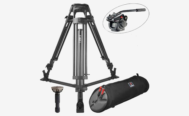 Manfrotto 525/501 Video Tripot Detay