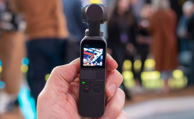 Dji Osmo Pocket Detay