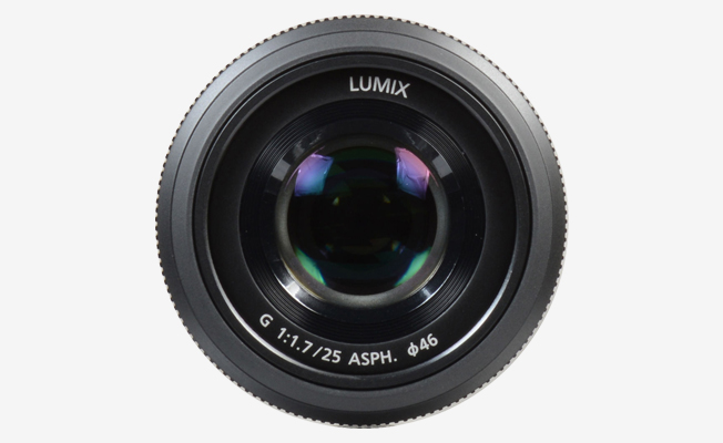 Panasonic Lumix G 25mm f/1.7 L Detay
