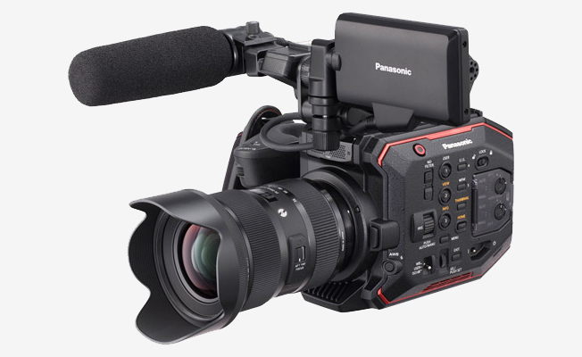Panasonic EVA1 5.7K Super 35mm Kamera eklendi