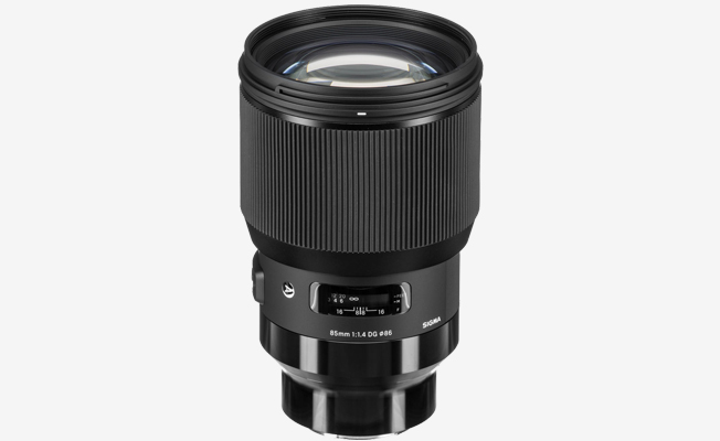Sigma 85mm f/1.4 Art Lens (E) Detay
