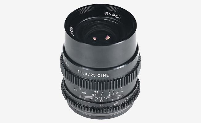 SLR Magic Cine 25mm f/1.4 Detay
